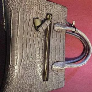 Snake skin style purse